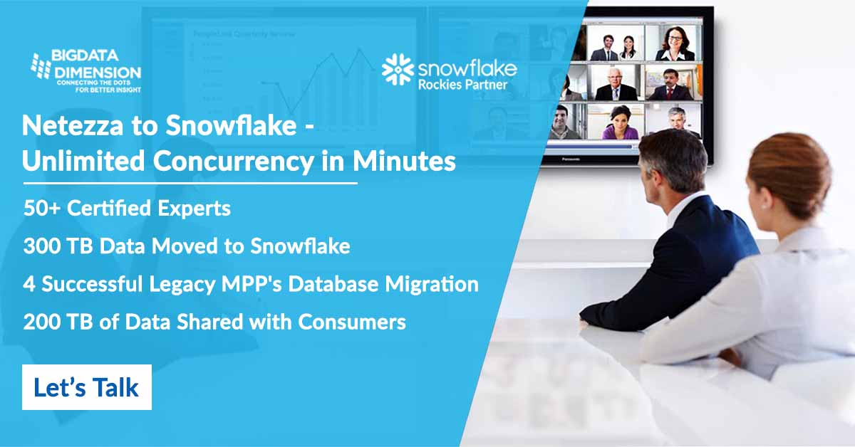 Netezza to Snowflake Migration, Integration, Consulting